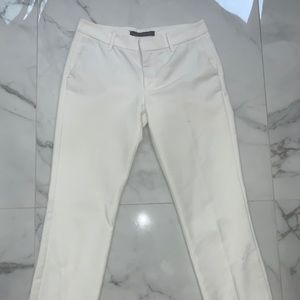 Zara white trousers